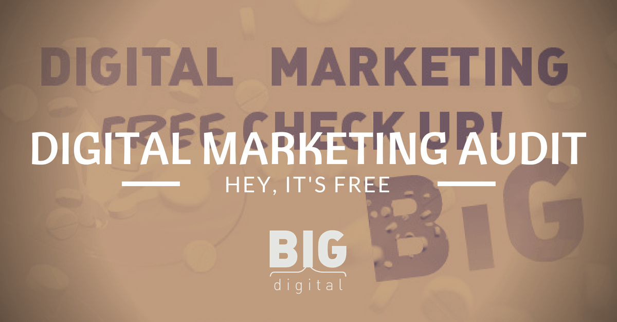 Audit gratuito di Digital Marketing
