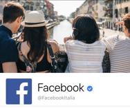 FB spunta blu