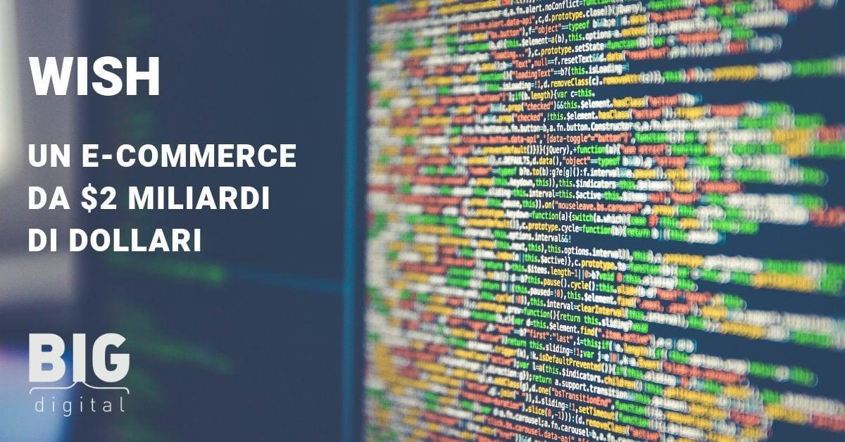 WISH – il nuovo gigante del commercio online