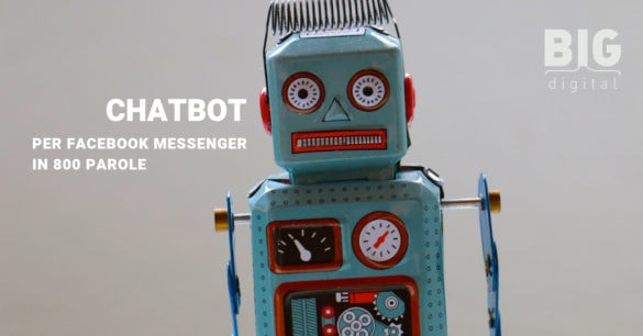 CHATBOT PER FACEBOOK MESSENGER