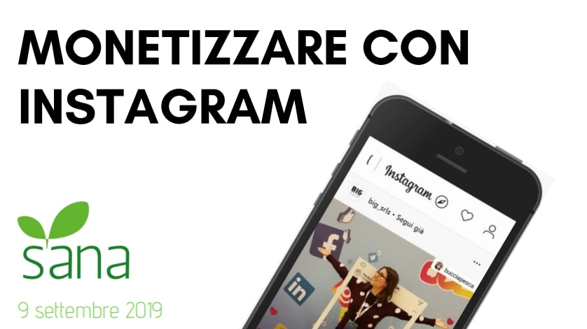 monetizzare con instagram